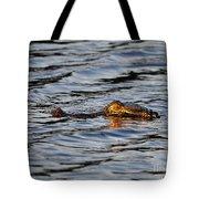 Glowing Gator Tote Bag