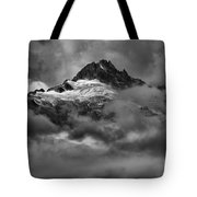 Glowing Glaciers In The Tantalus Range Tote Bag