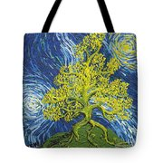 Glowing In The Balance Tote Bag