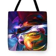 Glowing Life Abstract Tote Bag