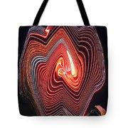 Glowing Lines Tote Bag