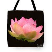 Glowing Lotus Square Frame Tote Bag