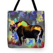 Electric Moose Tote Bag