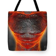 Glowing Muscle Boy Tote Bag