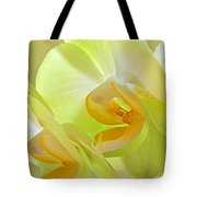 Glowing Orchid - Lemon And Lime Tote Bag