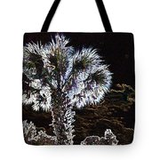 Glowing Palm Tote Bag