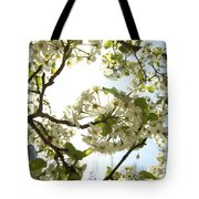 Glowing Petals Tote Bag