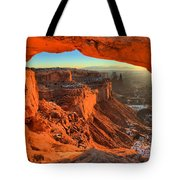 Glowing Photo Frame Tote Bag