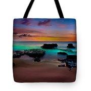 Glowing Sandy Tote Bag