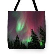 Glowing Skies Tote Bag by Priska Wettstein