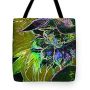 Glowing Sunflower Tote Bag