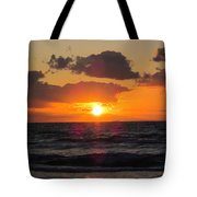 Glowing Sunrise Tote Bag