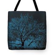 Glowing Tree Tote Bag