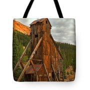 Glowing Under The Storm Clouds Tote Bag