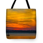 Glowing With Color Tote Bag