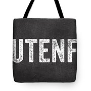 Gluten Free Tote Bag by Linda Woods