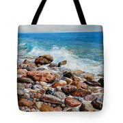 Glyfada Greece Tote Bag