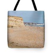 Glyne Gap Beach In England Tote Bag