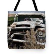 G M Old Pickup Tote Bag