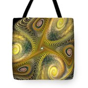 Gnarl Of Gold Tote Bag