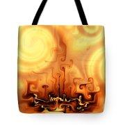 Gnarly Campfire Tote Bag
