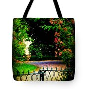 Go And Smell The Roses Tote Bag