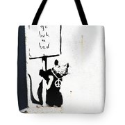 Go Back To Bed Protester Tote Bag