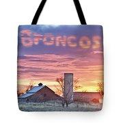 Go Broncos Colorado Country Tote Bag