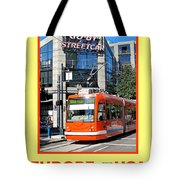Go By Streetcar Tote Bag