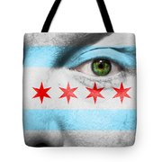 Go Chicago Tote Bag by Semmick Photo