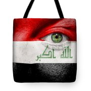 Go Iraq Tote Bag