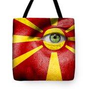 Go Macedonia Tote Bag