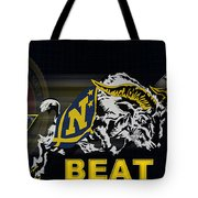 Go Navy Beat Army Tote Bag