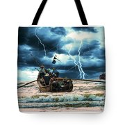 Go Though The Storm Tote Bag