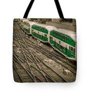 Go Train Tote Bag