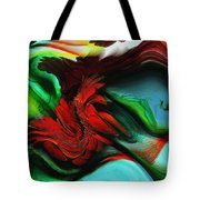 Go With The Flow Abstract Tote Bag