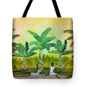 Goat Chase Tote Bag