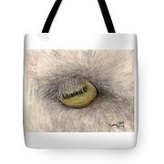 Goat Eye Farm Ranch Animal Art Cathy Peek Tote Bag
