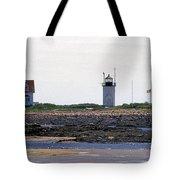 Goat Island Maine Tote Bag