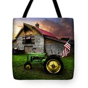 God Bless America Tote Bag
