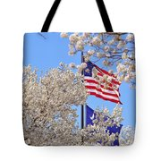 God Bless America March 2014 Tote Bag