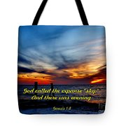 God Called It Sky Tote Bag