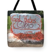 God Hates Ohio Tote Bag