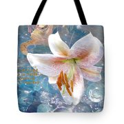 God Is Still In Control Tote Bag by Beverly Guilliams
