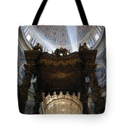 God Lighting The Way Tote Bag