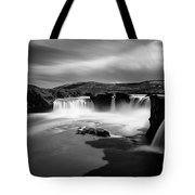 Godafoss Tote Bag by Dave Bowman