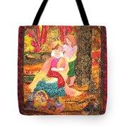 Goddess Crowning Tote Bag