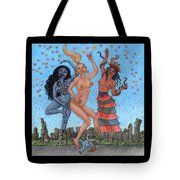 Goddess Dance Tote Bag
