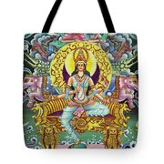 Goddess Of Asia Tote Bag