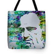 Godfather Watercolor Tote Bag